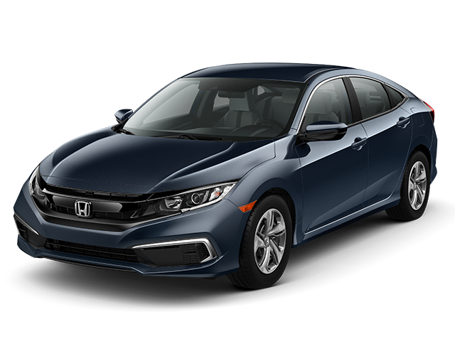 New 2020 Honda Civic LX Sedan Auto