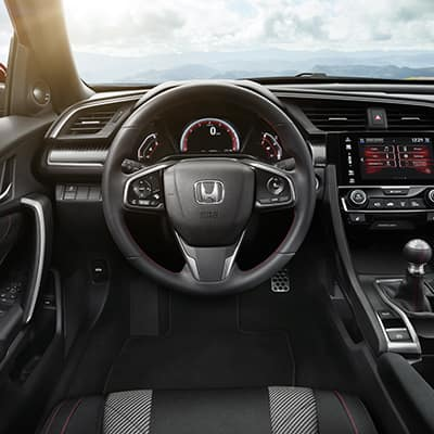 2019 Honda Civic interior Cerritos
