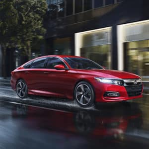 Red 2019 Honda Accord