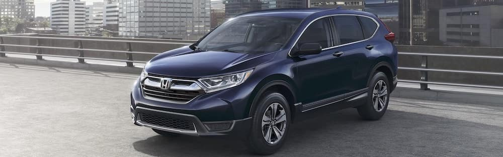 Dark blue 2019 Honda CR-V