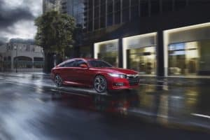 Red 2019 Honda Accord Sport