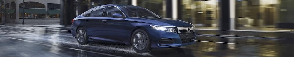 Blue 2019 Honda Accord LX
