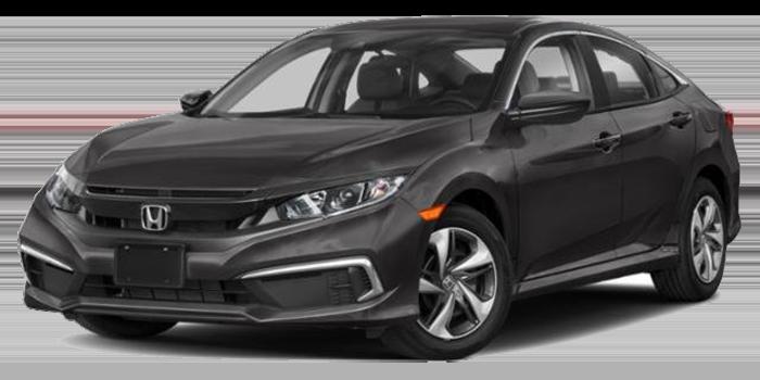 New 2021 Honda Civic LX Sedan Auto FWD