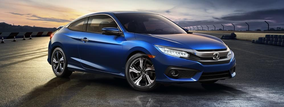 2018 Honda Civic Blue