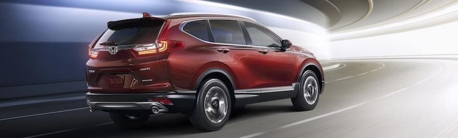 Honda CR-V Basque Red Pearl