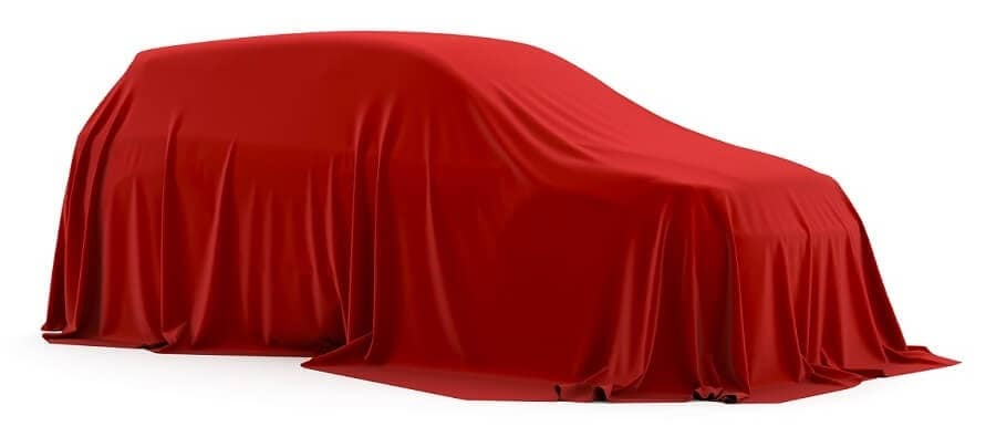 2019 Honda Passport Under Red Cloth