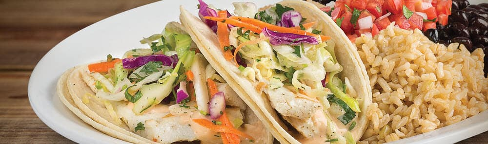 Fish Taco Plate