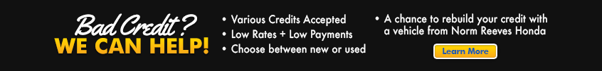 bad credit car loan norm reeves huntington beach