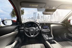 Driving Honda Insight