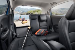 HR-V Backseat Interior