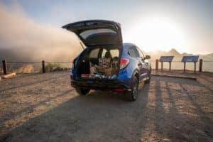 Honda HR-V Trunk Interior