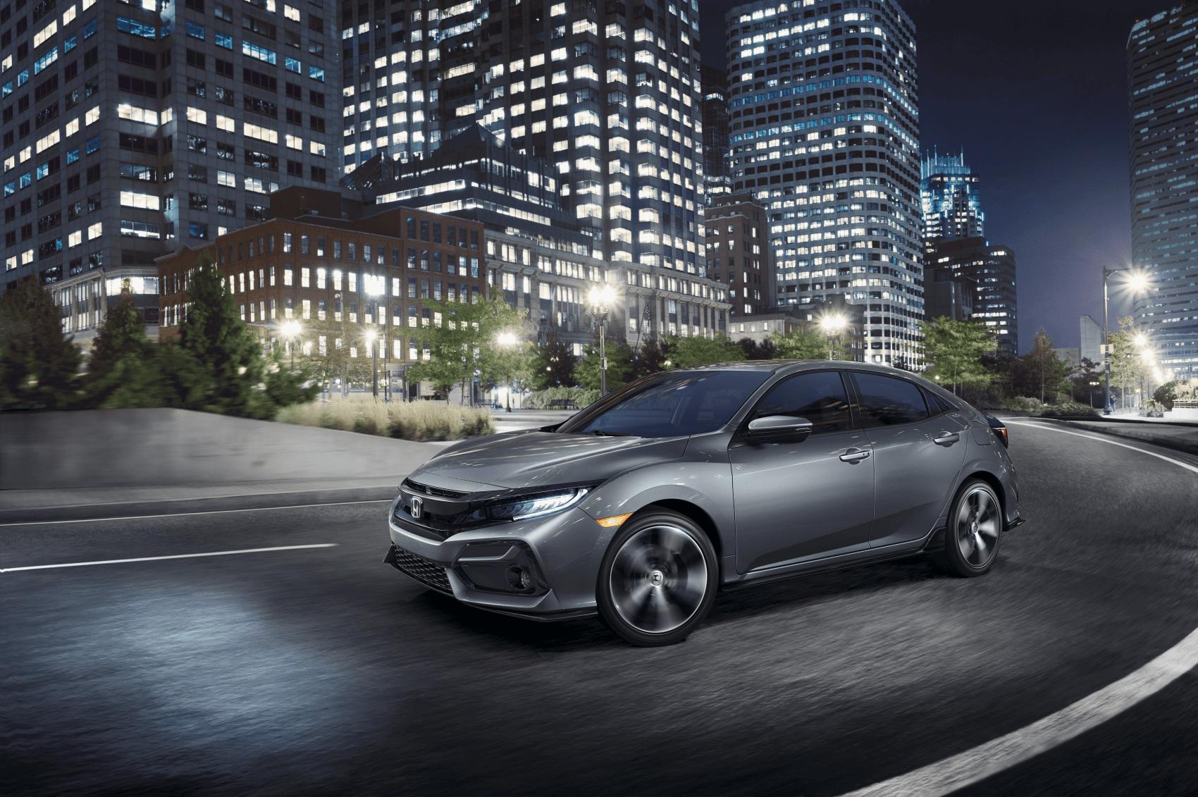2021 Honda Civic Sport Silver
