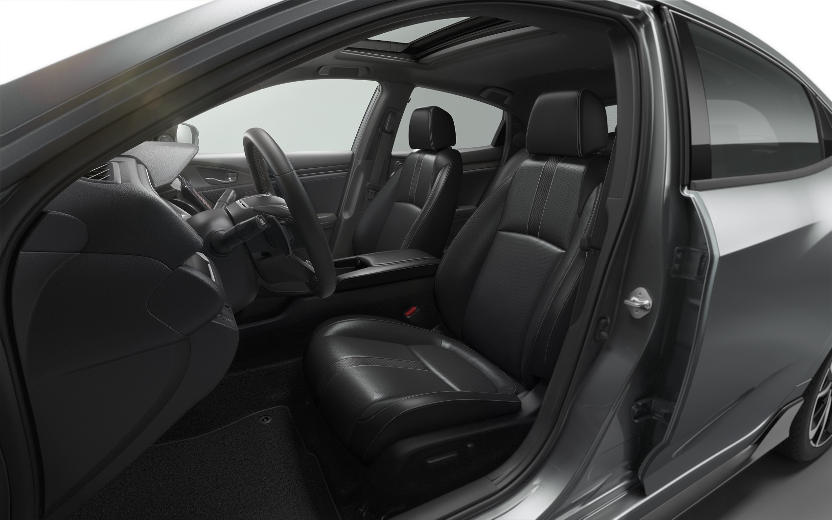 2021 Honda Civic Sport Interior Cabin Space