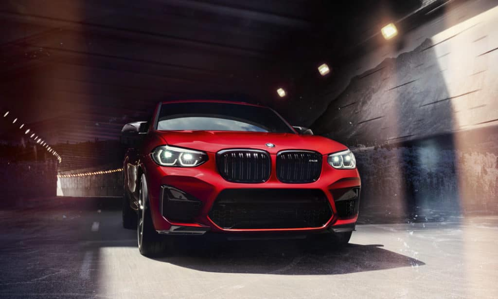 Lease a 2020 BMW X4 M Competition