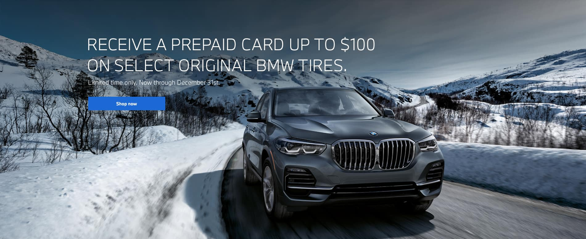 $100 Visa Mail In Gift Card with Purchase of 4 Tires.