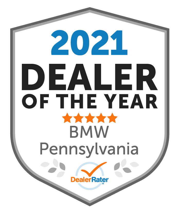 2020 Dealerrater Dealer of the Year Award to Otto's BMW for BMW in Pennsylvania.