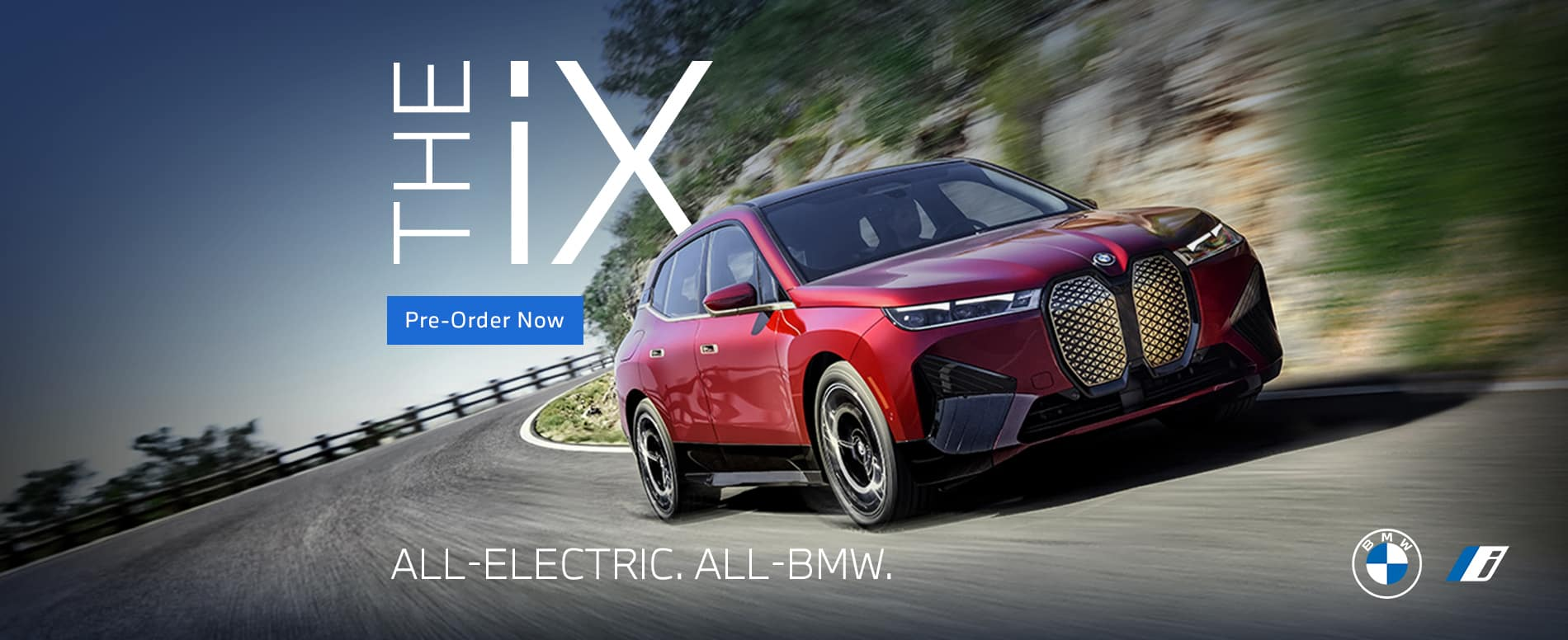 Pre-Order the All-New BMW iX Now
