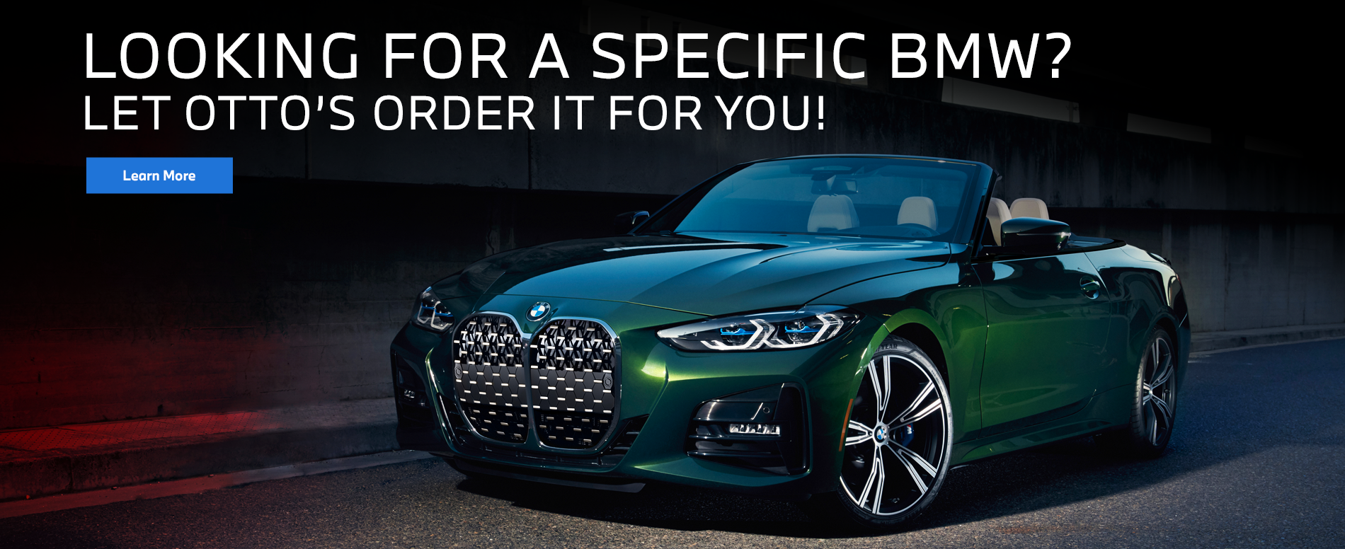 Let Otto's BMW order your next BMW!