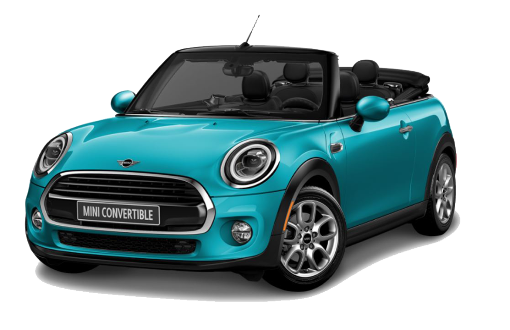 Lease a new 2020 MINI Cooper Convertible- $299/month.