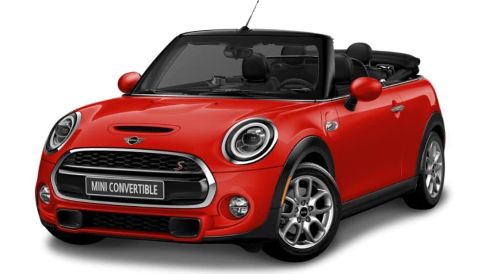 Lease a new 2020 MINI Cooper S Convertible- $339/month.