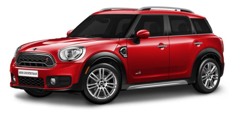 Lease a 2020 MINI Cooper S Countryman ALL4- $369/month.