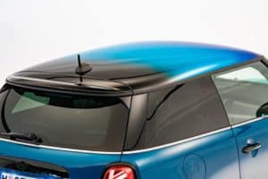 The roof of a new 2022 MINI Hardtop