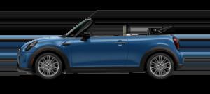 MINI Convertible in Island Blue