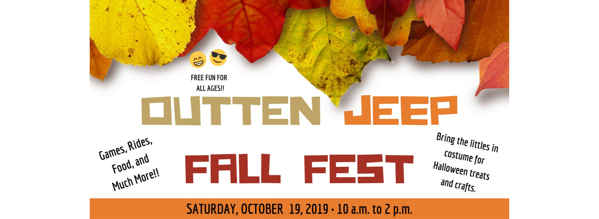 Outten Jeep Fall Fest