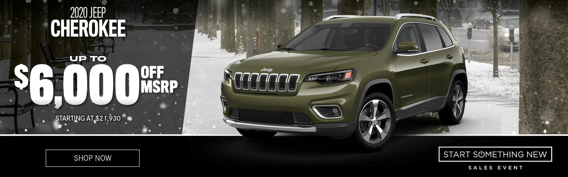 2020 Jeep Cherokee For Sale in Atlanta, Georgia