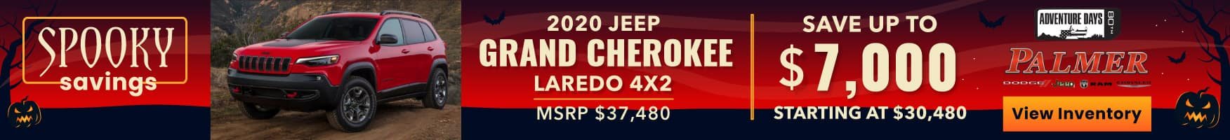 Save Up To $7000 On A Jeep Grand Cherokee!