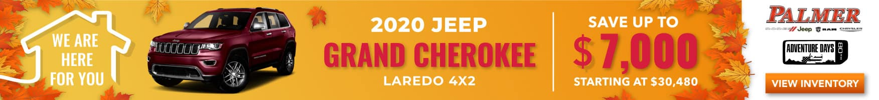 grand cherokee laredo srp