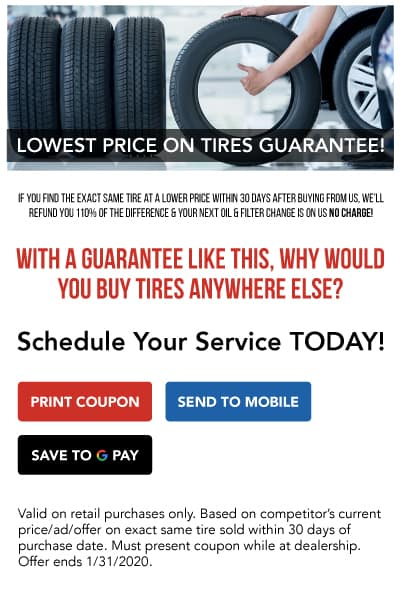 Lowest Price Tires