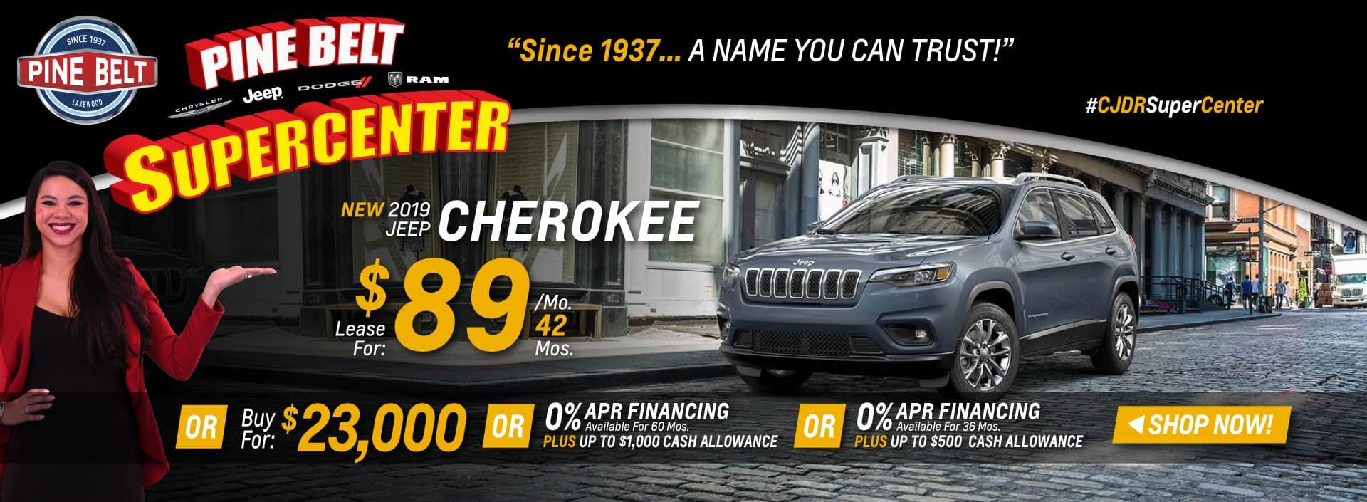 2019 Jeep Cherokee Sales Deals or Special in NJ