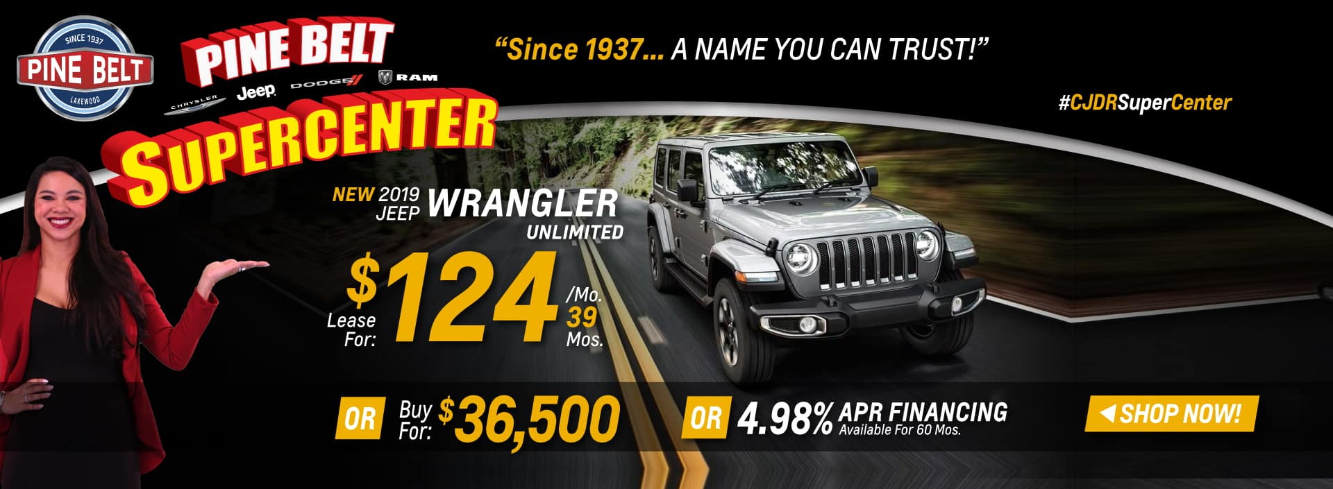 2019 JEEP Wrangler Deals in NJ
