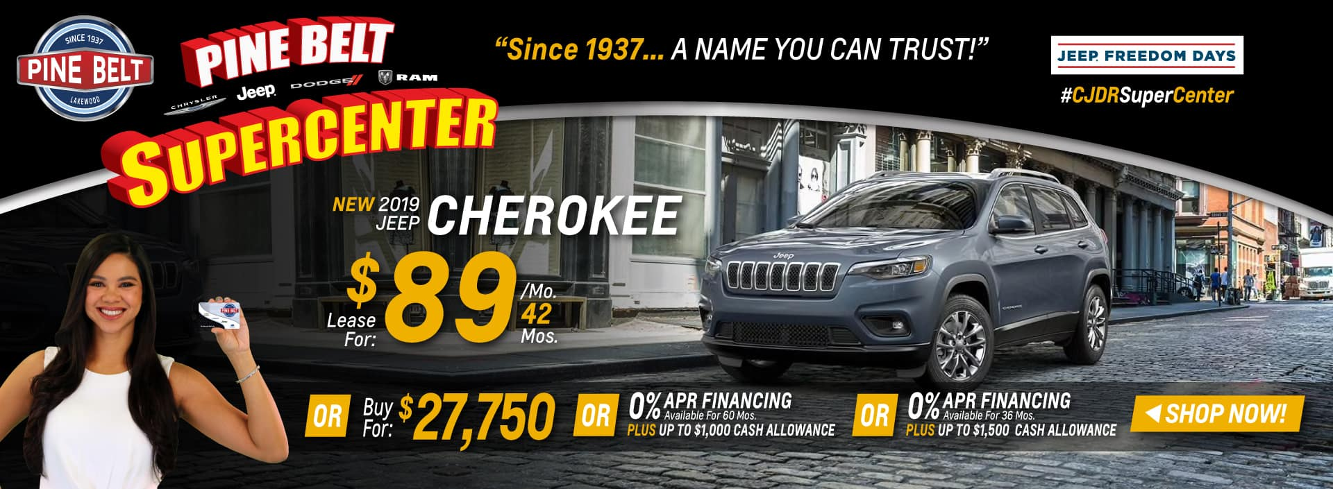 2019 Jeep Cherokee Sales Deals or Special in NJ