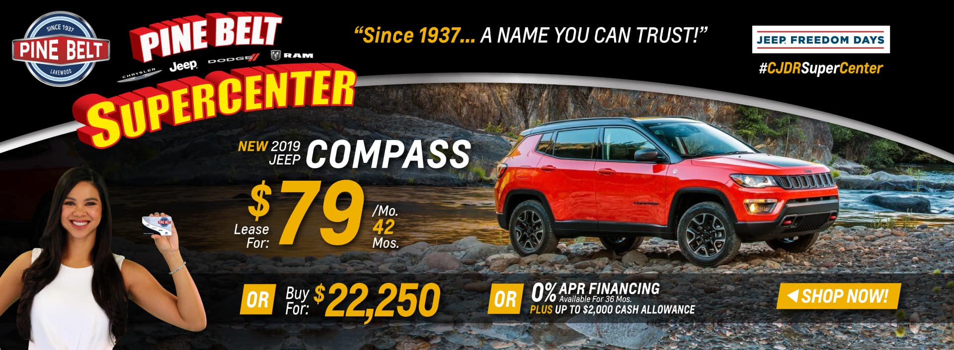 2019 JEEP Compass Sales or Specials in New Jersey