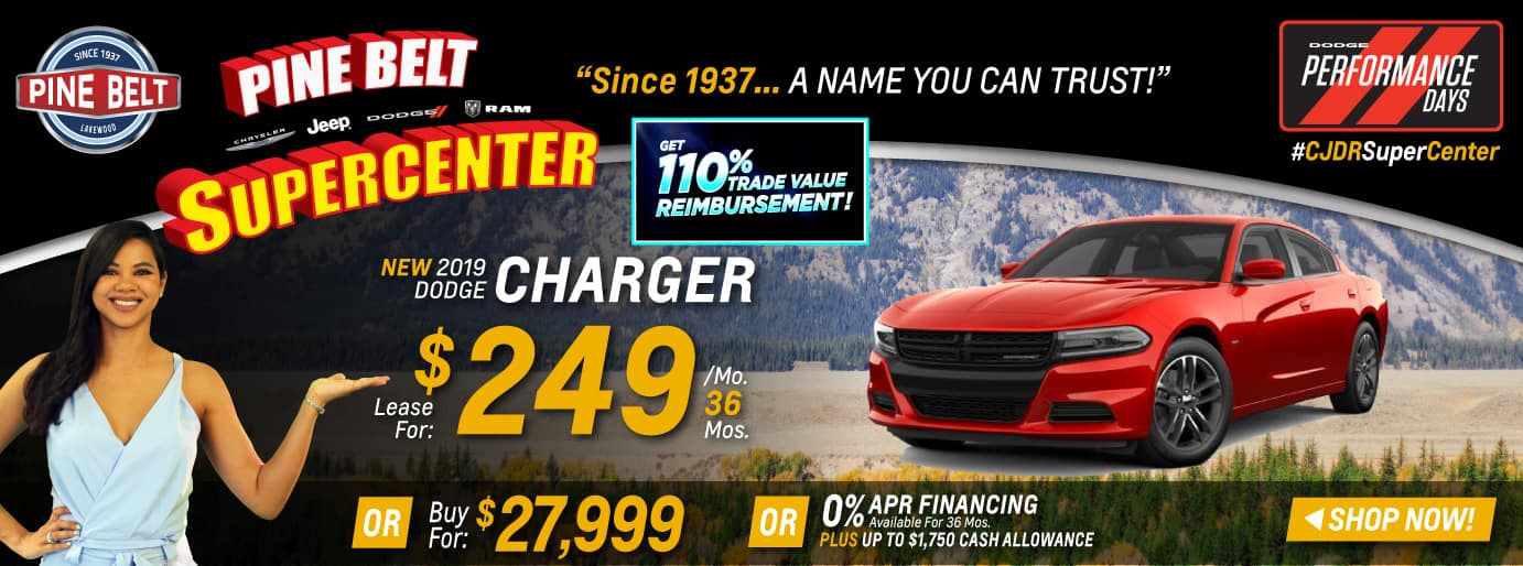 2019 Dodge Charger Sales Deals or Specials in NJ