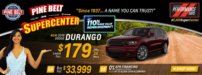 2019 Dodge Durango Sales Deals or Specials in NJ