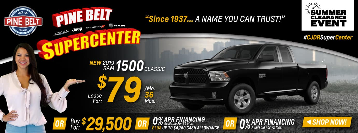 2019 RAM 1500 Truck Sales Deal or Special in NJ