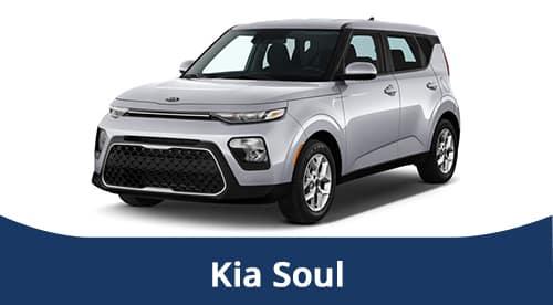 2021 Silver Kia Soul