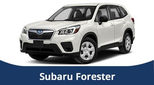 2021 White Subaru Forester