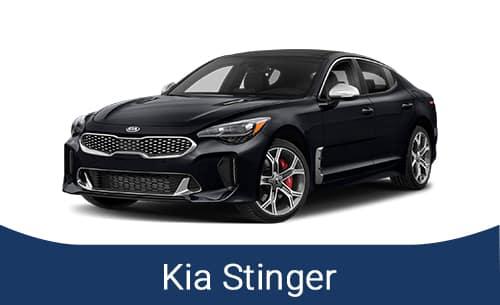 Black Kia Stinger 2021