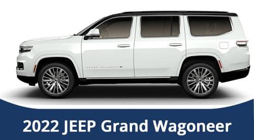 2022 Jeep Wagoneer SPECIALS