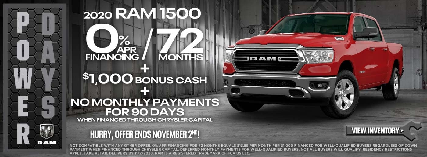 Power Days 2020 RAM 1500