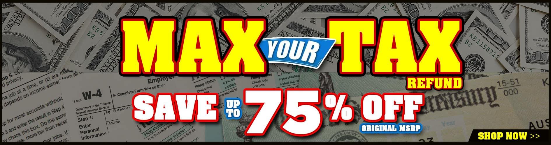 MAX your TAX return