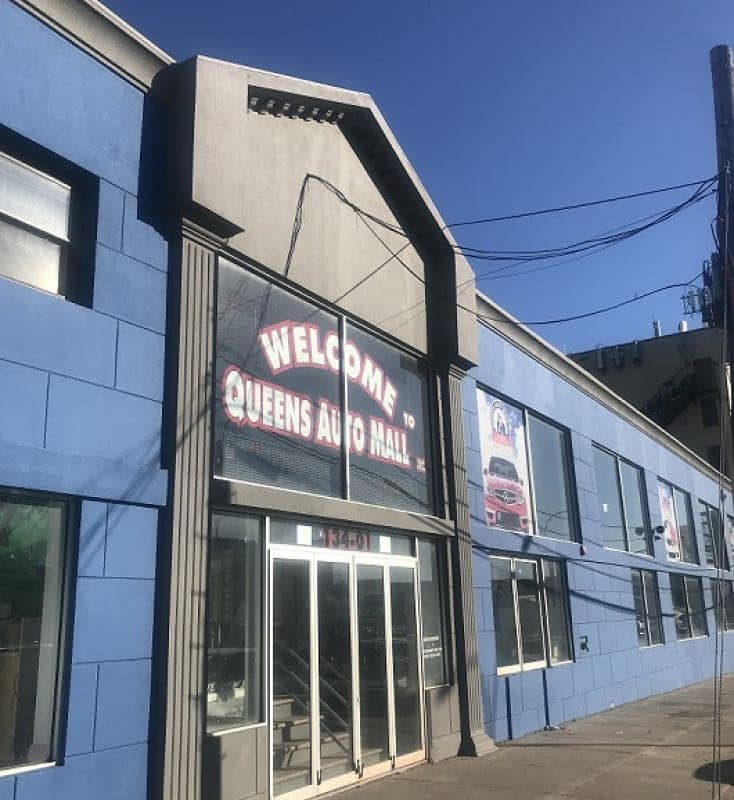 Welcome to Queens Auto Mall Image of Building