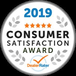 Dealer Rater Toyota Award