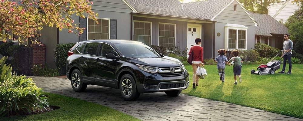 2019 Honda CR-V In Driveway