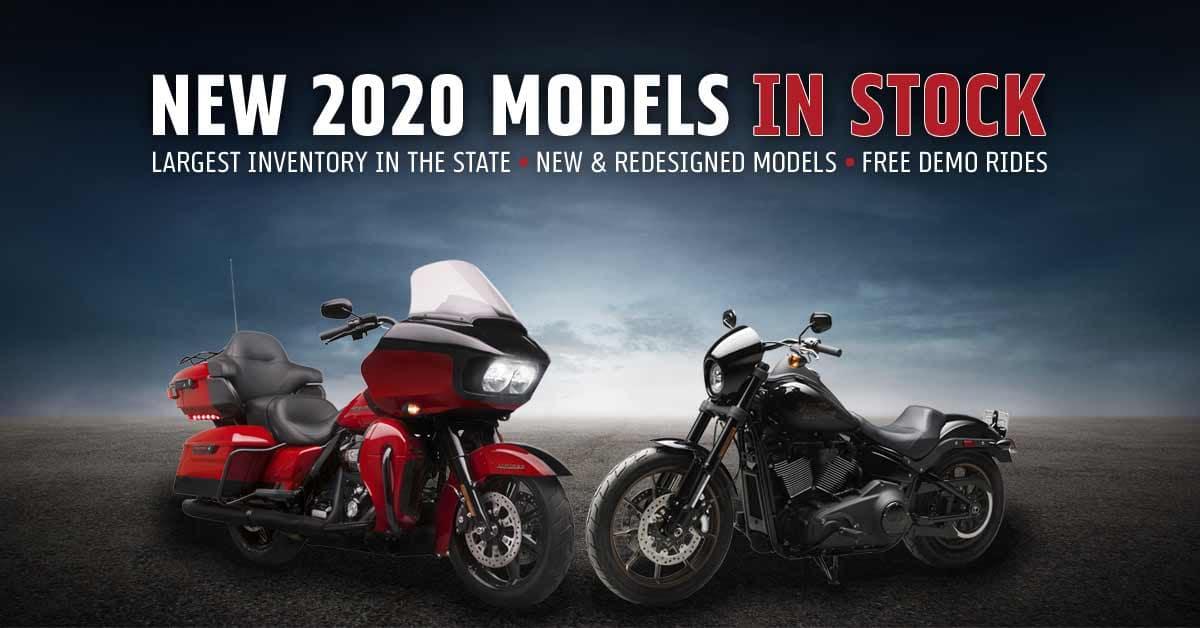 2020 Harley-Davidson Motorcycle Lineup