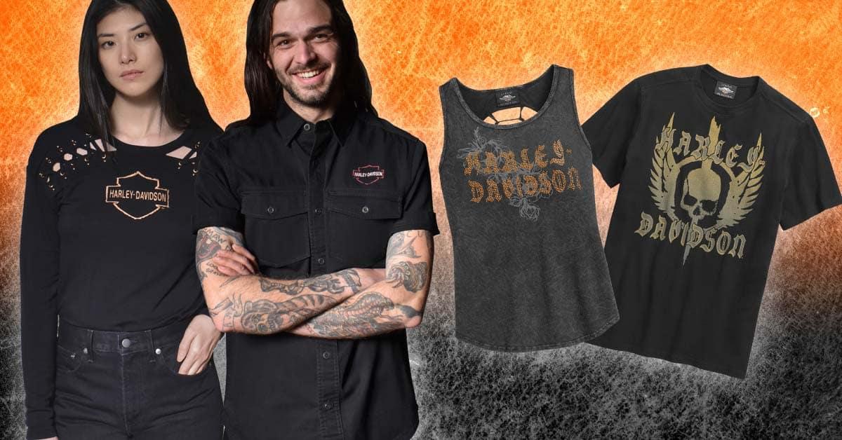 Harley-Davidson MotorClothes New Arrivals